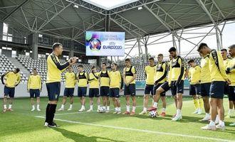 Сборная Украины по футболу сегодня сыграет с Австрией