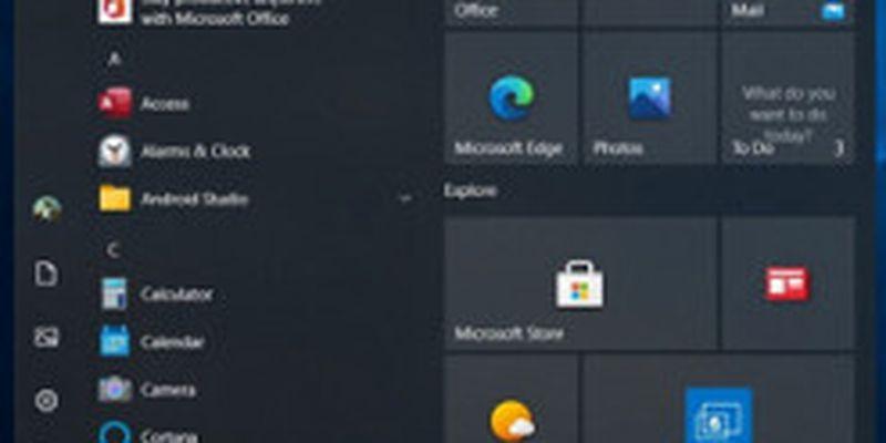 """Вслед за меню Пуск """"взлетают"""" и другие элементы Windows 10"""