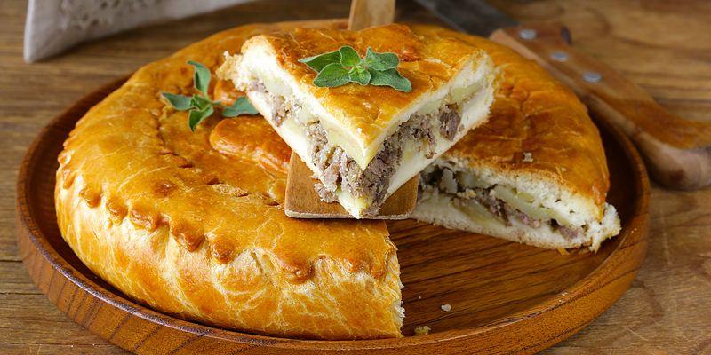 Рецепт вкуснейшего пирога с мясом