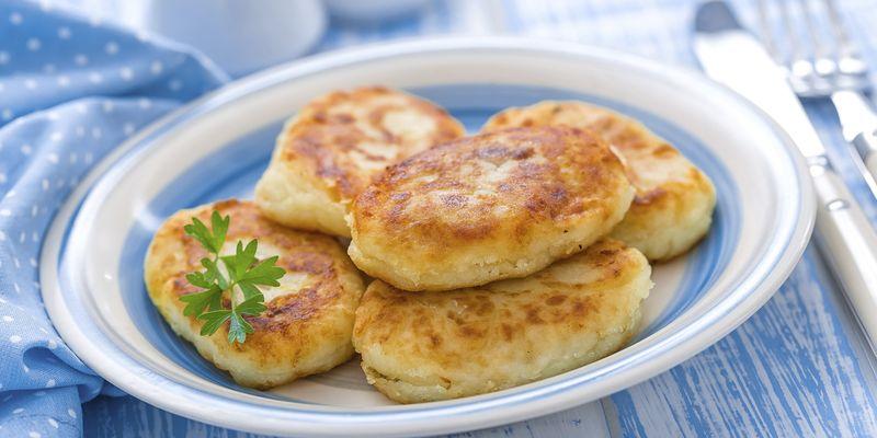 Вкусные и легкие картофельные котлеты с печенью по бабушкиному рецепту