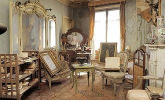 Как выглядит парижская квартира, которая была заперта 70 лет?