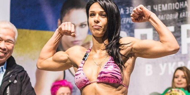 Красавица-украинка с нокдауном стала чемпионкой мира по тайскому боксу