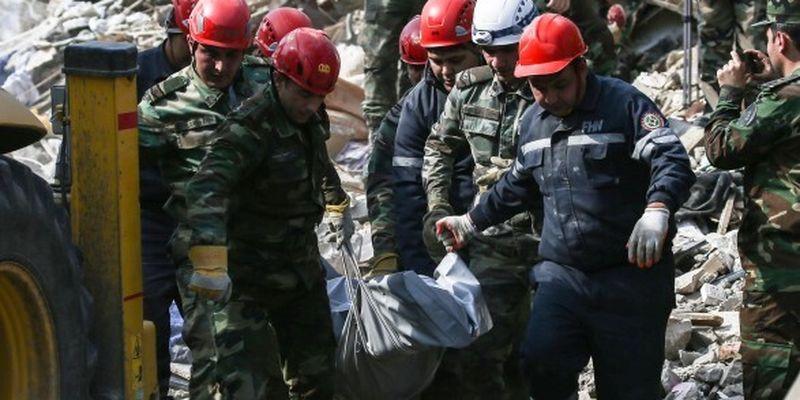 Война в Карабахе: в Азербайджане возросло число жертв среди мирных жителей