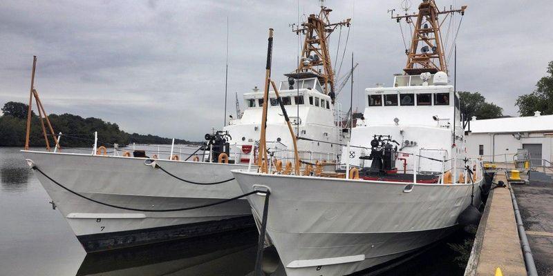 США передадуть два катери прикордонним військам України
