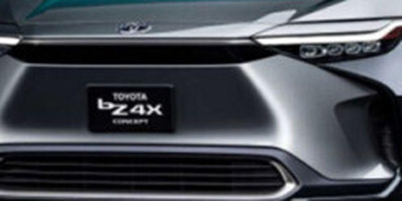 Toyota представила свой первый электрический внедорожник