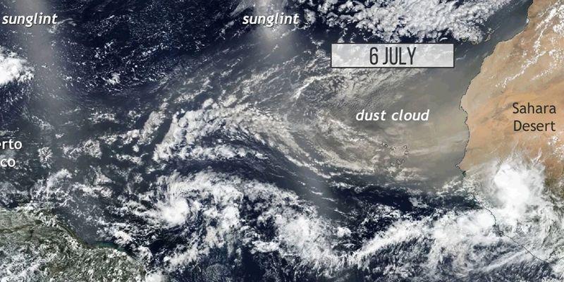 Опасный воздух. Ученые составили карту атмосферных рек, загрязняющих планету