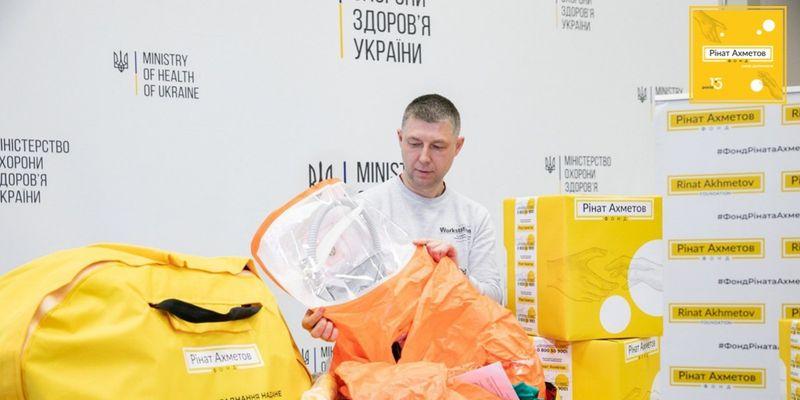 За год Ринат Ахметов предоставил для противодействия COVID-19 в Украине помощь более чем на 300 млн грн