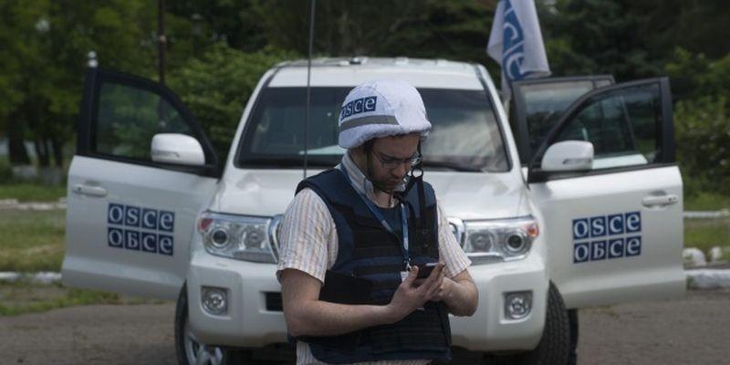 Миссия ОБСЕ зафиксировала 50 вагонов на оккупированной Луганщине у границы с РФ