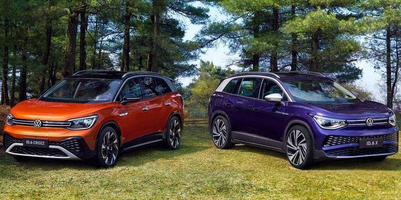 Семиместный электрический кроссовер: Volkswagen представила ID.6 с запасом хода до 588 км и разгоном до «сотни» за 6.6 сек