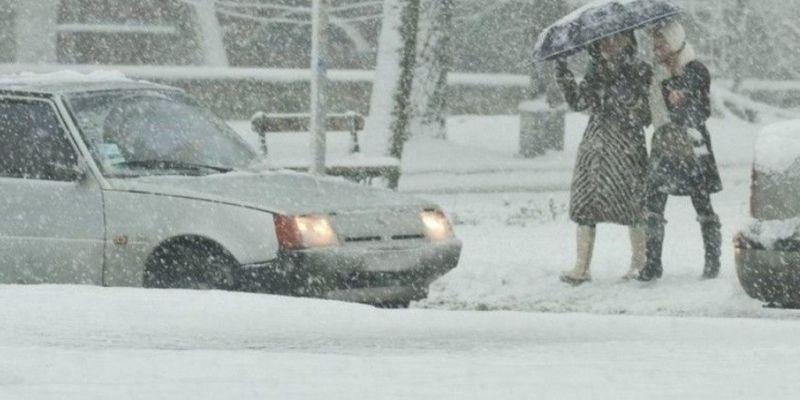 Снегопад только усилится: погода в Украине резко ухудшится