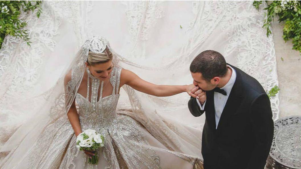 Ливанская сказка: дизайнер Эли Сааб устроил сыну роскошную свадьбу