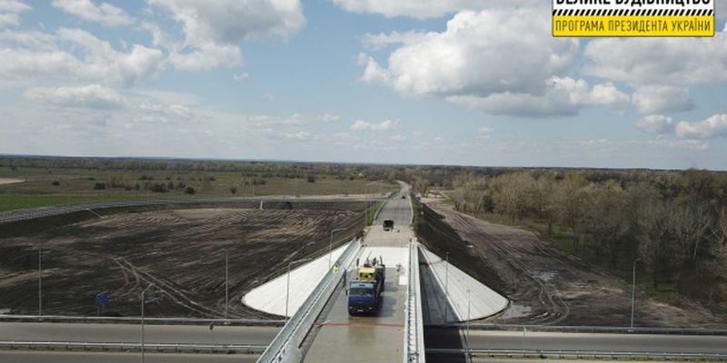 На Днепропетровщине возвели новый мост