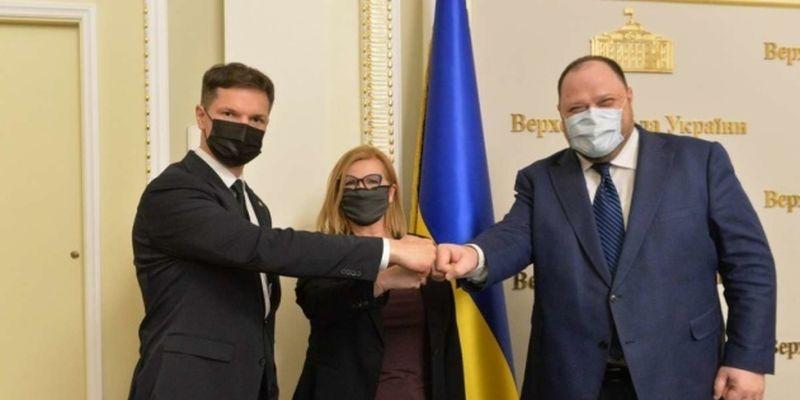 Стефанчук рассчитывает на помощь Польши и Литвы в вопросе получения ПДЧ в НАТО