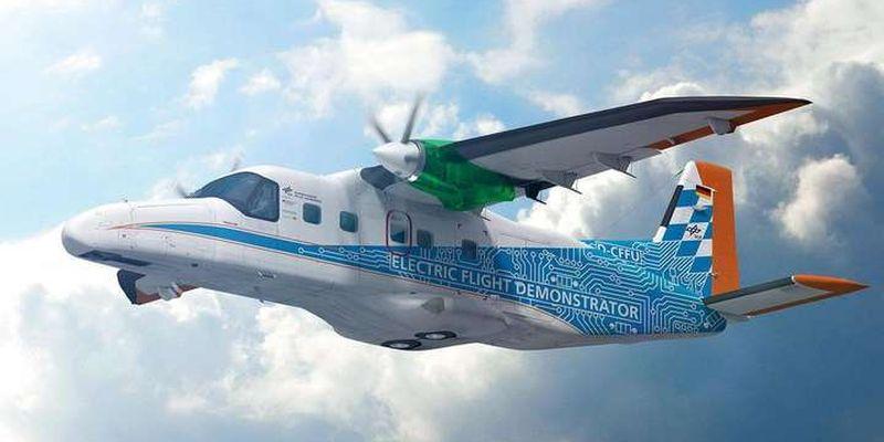 В Німеччині почали розробку водневого авіаційного двигуна
