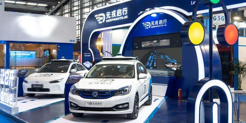 В Китае заработало беспилотное такси