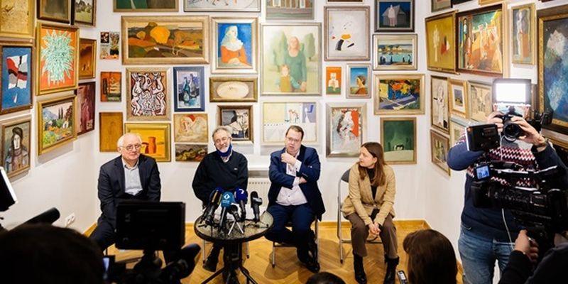 Работы украинских художников впервые покажут в парижском Центре Помпиду