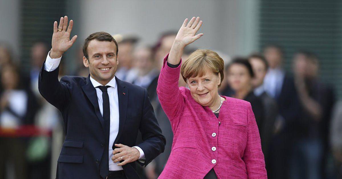 """""""Спасибо, дорогие, что бросили нас"""": В Италии записали 8-минутную """"благодарность"""" Макрону и Меркель"""