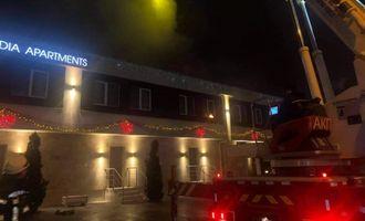 Пожежа в одеському готелі: слідчі розглядають кілька причин займання