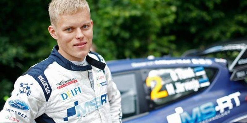 Устрашающая авария: чемпион мира из Эстонии разбил автомобиль вдребезги на бешеной скорости