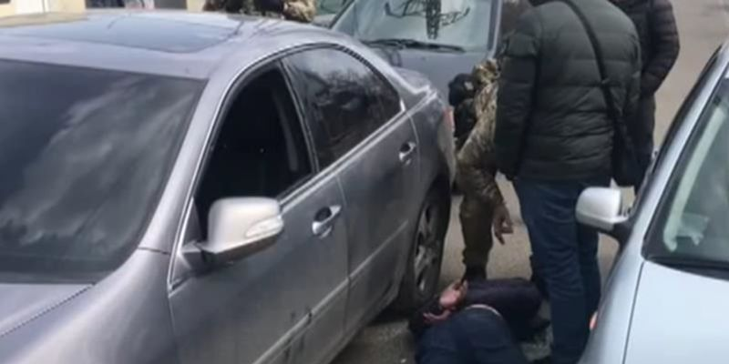 "В Одессе задержали банду кавказского ""авторитета"""
