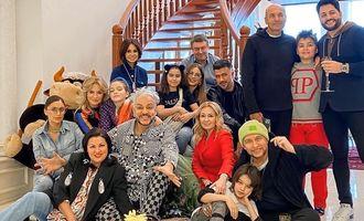 Ани Лорак и Филипп Киркоров спели на украинском на помпезной вечеринке дочери