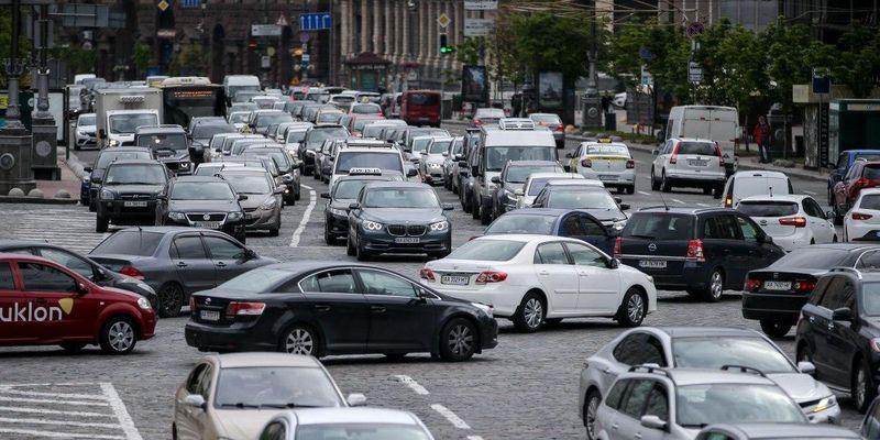 Пробки в Киеве: где сложно проехать утром понедельника