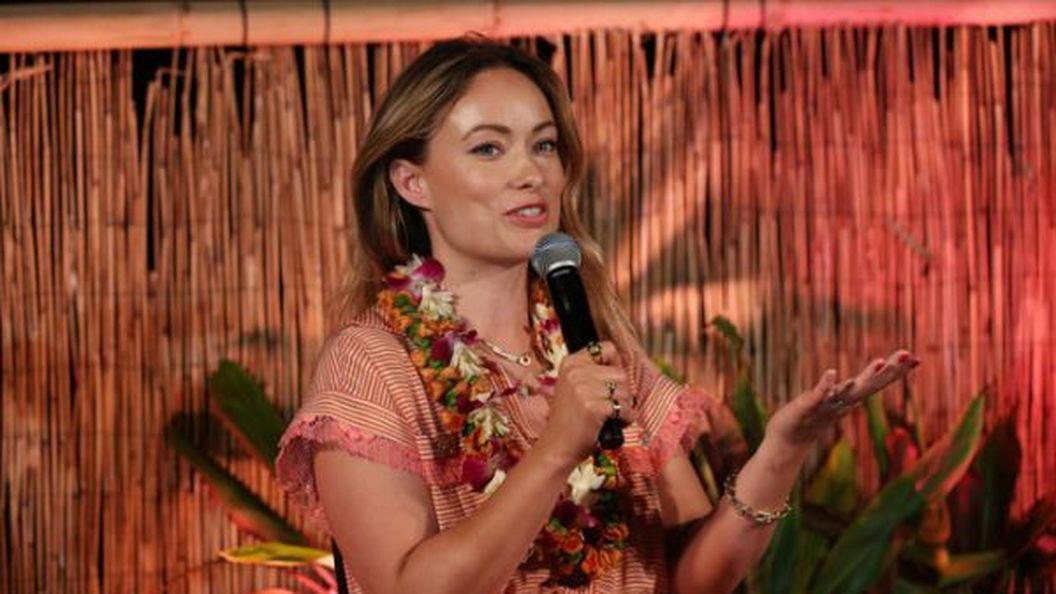Засмагла Олівія Вайлд на Гавайському кінофестивалі