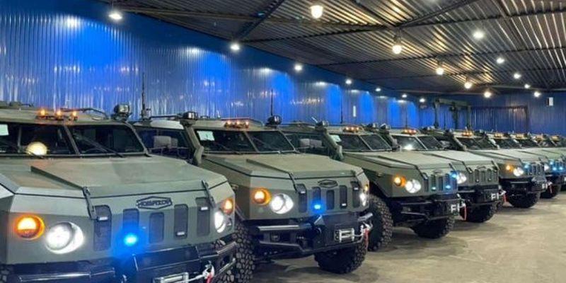 Украинские нацгвардейцы получили новейшие бронеавто