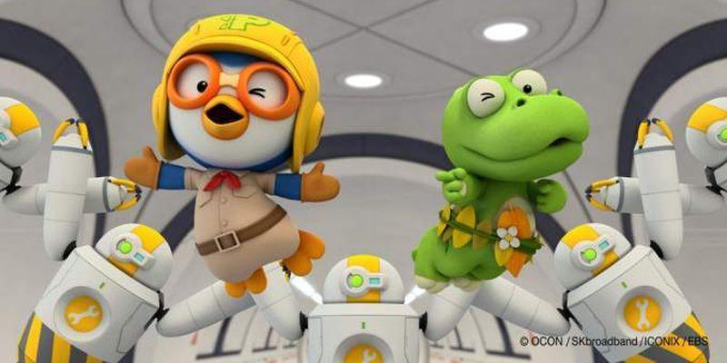 В феврале в кино выйдет мультфильм «Пингвиненок Пороро. Мир динозавров»