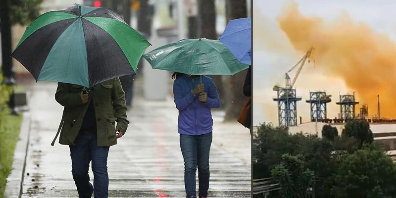 """Из-за взрыва на """"Ривнеазоте"""" синоптики предупредили о кислотных дождях"""