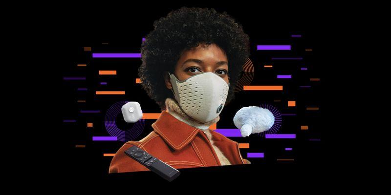 Вещь дня: Смарт-маска, контролирующая качество воздуха и дыхание