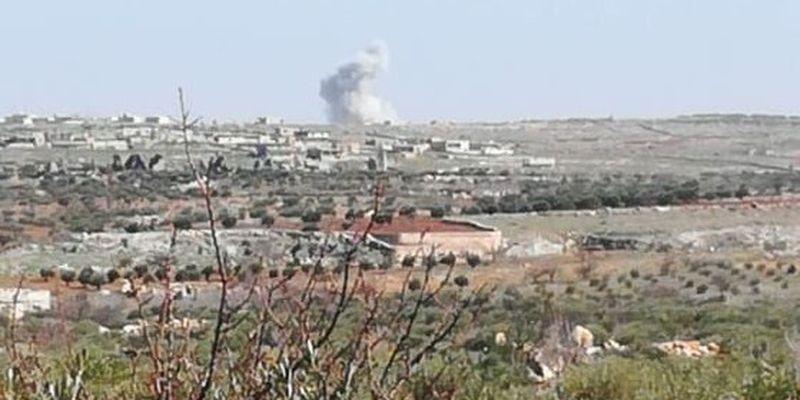 В Сирии российский самолет нанес удар по союзникам Турции