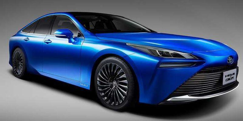 Toyota анонсувала презентацію революційногот водневого електромобіля
