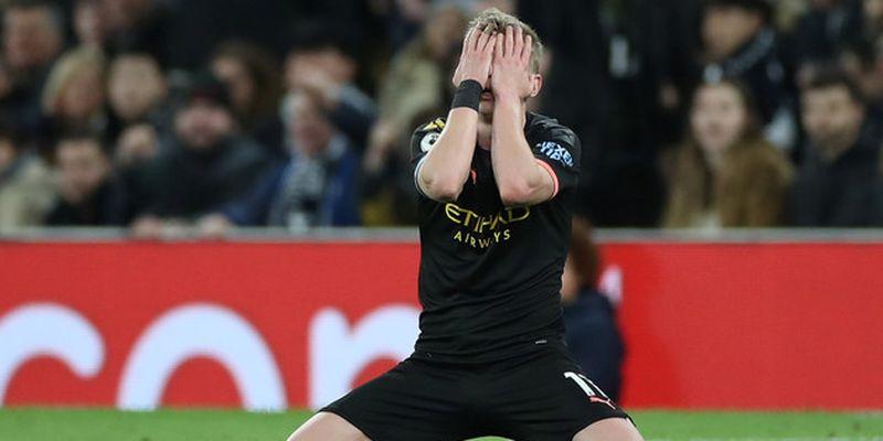 """Продажи Зинченко хватит """"Манчестер Сити"""", чтобы заплатить штраф УЕФА"""