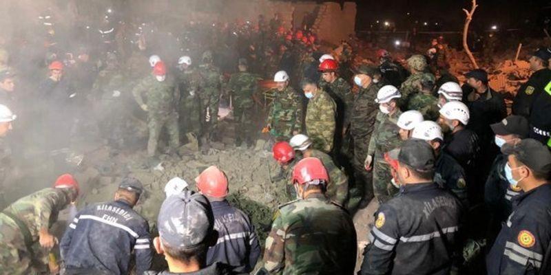 Война в Карабахе: во время обстрела Гянджи в Азербайджане погибли 12 человек