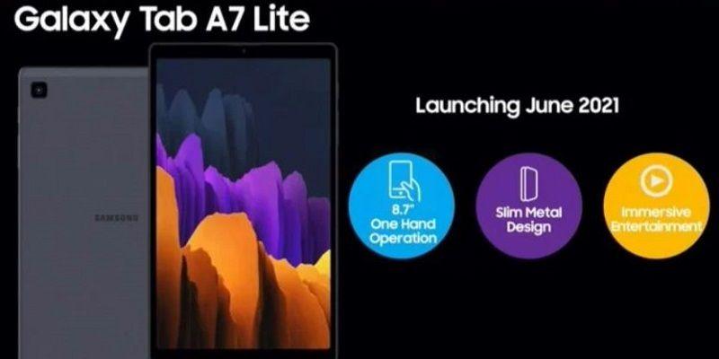 Samsung Galaxy Tab A7 Lite з'явився на офіційному сайті