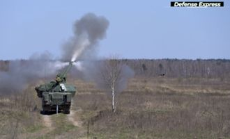 ВСУ испытали чешскую самоходную гаубицу Dana-M2: появились фото и видео