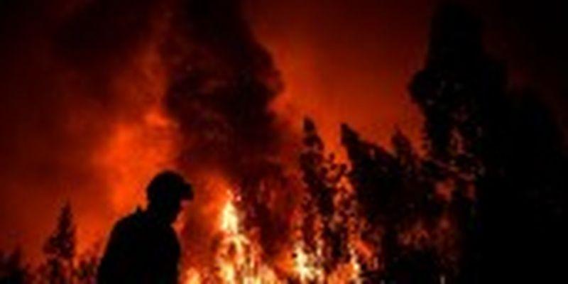 Через лісові пожежі в Португалії поранені дев'ять людей