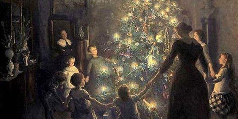 Откуда взялся обычай наряжать елку на Новый год?
