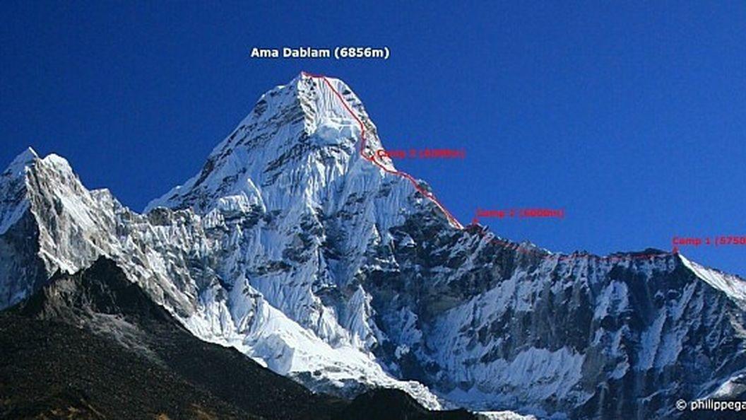 Украинский альпинист совершил скоростное восхождение на гору