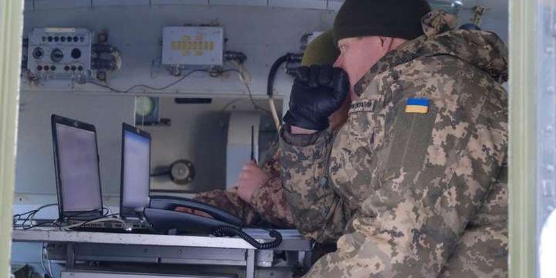 Окупанти тричі обстрілювали позиції Збройних сил на Донеччині