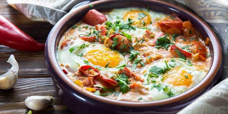 Шакшука, или яичница по-арабски: простейший рецепт