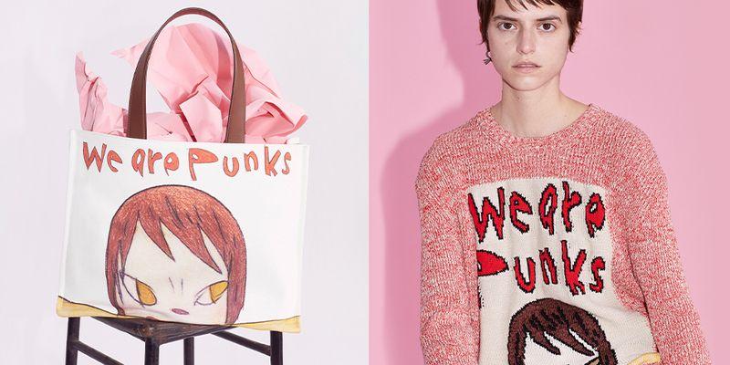 We are punks: Stella McCartney создали коллекцию с японским художником Нарой Йошитомо