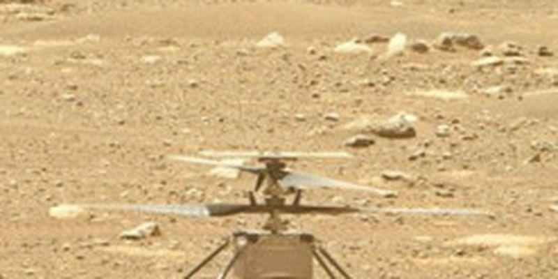 Марсоход Perseverance показал запыленную панель и лопасти вертолета