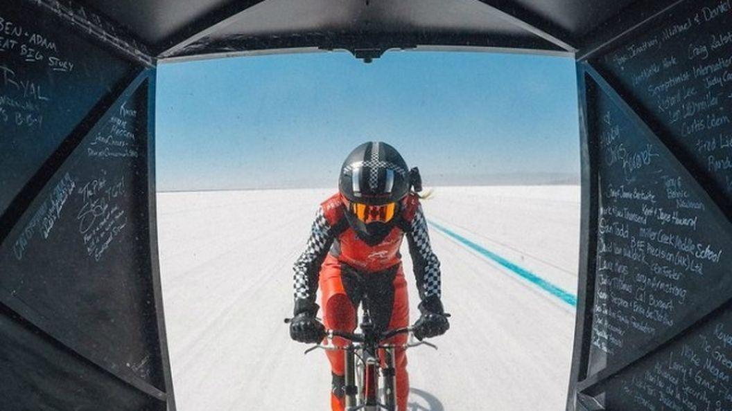 Новый мировой рекорд скорости на велосипеде