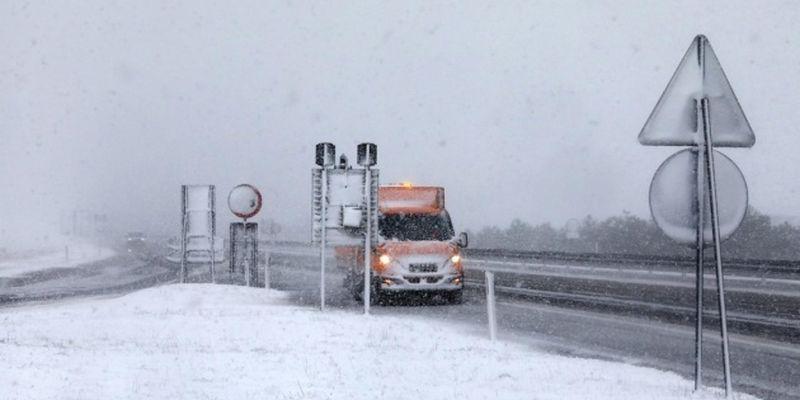 Хорватию накрыли мощные снегопады
