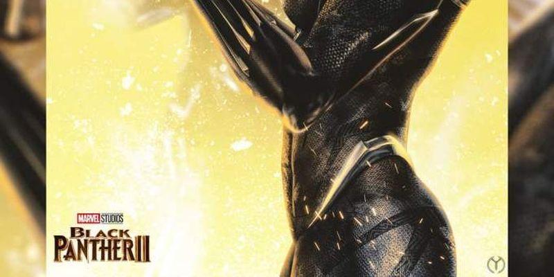 «Черная пантера 2»: Шури надевает костюм Т'Чаллы в память о брате на новом фан-арте