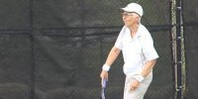 74-летняя теннисистка сыграла в турнире ITF во Флориде