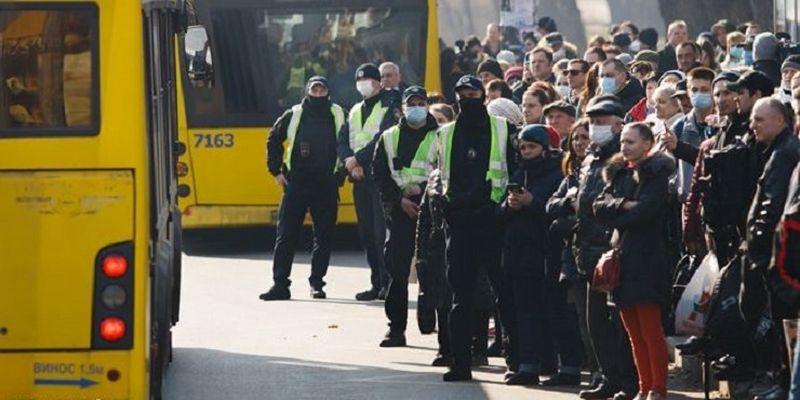 У Києві водії маршруток відмовляються виходити на рейси