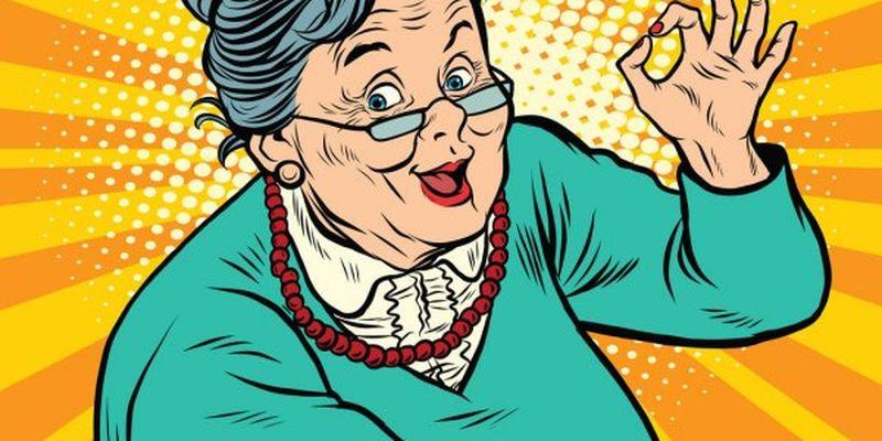 Анекдот о бабушке
